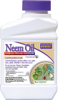 Bonide Products Inc     P - Neem Oil Fungicide Miticide Insecticide Conc