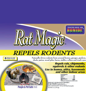 Bonide Products Inc     P - Rat Magic Scent Packs