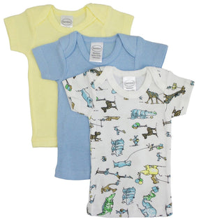 Printed Boys Short Sleeve Variety Pack