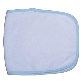 Terry Burpcloth With Blue Trim