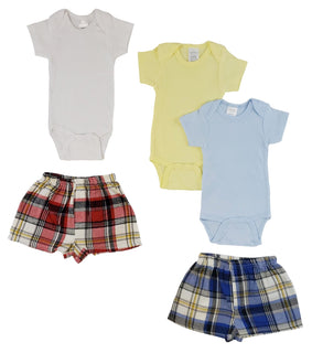 Infant Onezies And Boxer Shorts