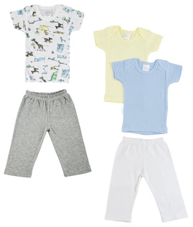 Infant Girls T-shirts And Track Sweatpants