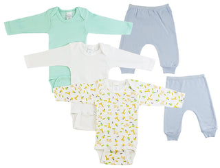 Infant Boys Long Sleeve Onezies And Joggers