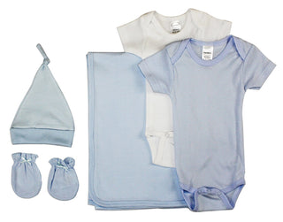 Newborn Baby Boy 5 Pc  Baby Shower Gift Set
