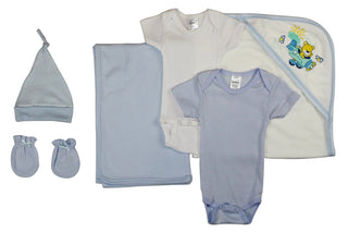 Newborn Baby Boy 6 Pc  Baby Shower Gift Set