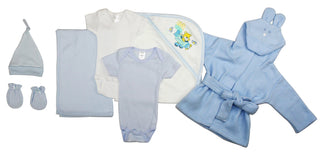 Essential Newborn Baby Boy 7 Piece  Set