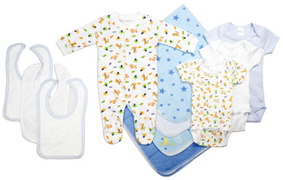 Newborn Baby Boy 11 Pc  Baby Shower Gift Set
