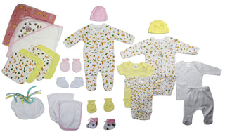 Newborn Baby Girl 23 Pc  Baby Shower Gift Set
