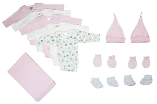 Newborn Baby Girl 12 Pc  Baby Shower Gift Set