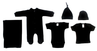 Black 6 Piece  Set