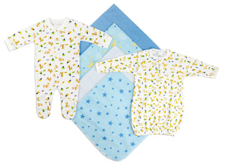 Newborn Boys 6 Piece  Set