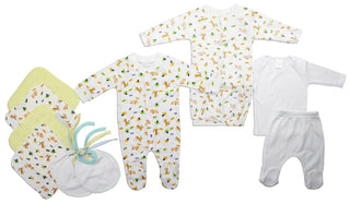 Neutral Newborn Baby 10 Pc  Baby Shower Gift Set