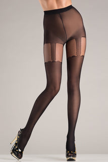BW746 Suspended Secrets Pantyhose