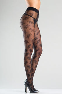 BW768 Floral Feels Pantyhose