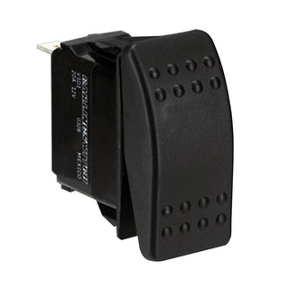Paneltronics DPDT (ON)-OFF-(ON) Waterproof Contura Rocker Switch - Momentary Configuration