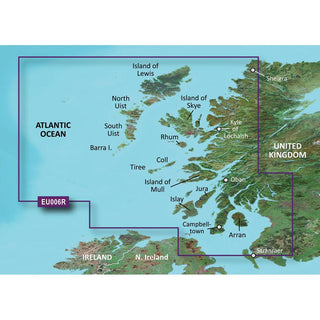 Garmin BlueChart® g3 HD - HXEU006R - Scotland West Coast - microSD™-SD™