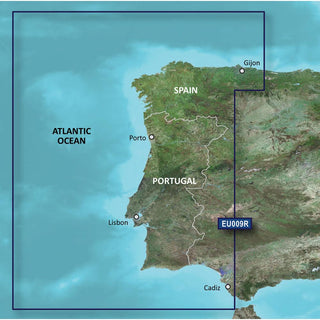 Garmin BlueChart® g3 HD - HXEU009R - Portugal & Northwest Spain - microSD™-SD™