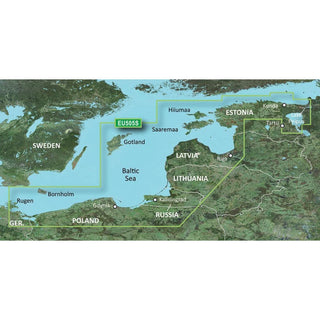 Garmin BlueChart® g2 HD - HXEU065R - Baltic Sea East Coast - microSD™-SD™