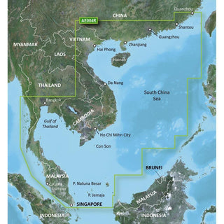 Garmin BlueChart® g2 HD - HXAE004R - Hong Kong-South China Sea - microSD™-SD™