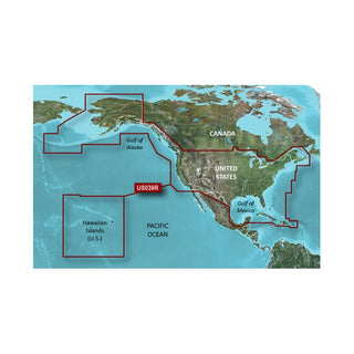 Garmin BlueChart® g3 HD - HXUS604x - US All & Canadian West - microSD™-SD™