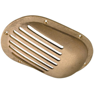 "Perko 6-1-4"" x 4-1-4"" Scoop Strainer Bronze MADE IN THE USA"
