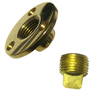 Perko Garboard Drain & Drain Plug Assy Cast Bronze-Brass MADE IN THE USA