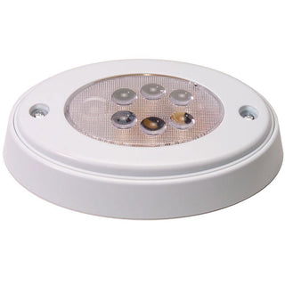 Innovative Lighting 6-LED Oval Recess Compartment Light White w-White Bezel
