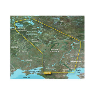 Garmin BlueChart® g3 HD - HXEU062R - Russian Inland Waterways - microSD™-SD™