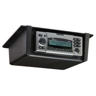 Poly-Planar Radio Mount Underdash-Overhead - Black