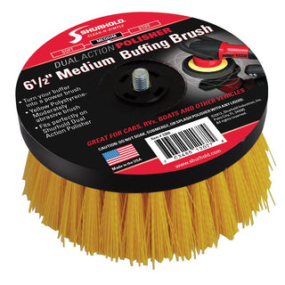 "Shurhold 6-½"" Medium Brush f-Dual Action Polisher"