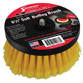 "Shurhold 6-½"" Soft Brush f-Dual Action Polisher"