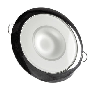 Lumitec Mirage - Flush Mount Down Light - Glass Finish-Polished SS Bezel - Warm White Dimming
