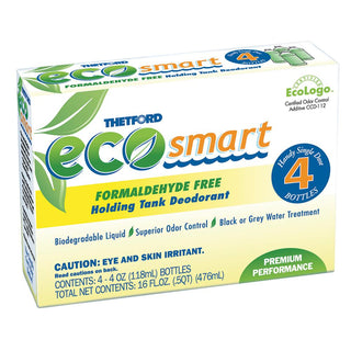 Thetford Eco-Smart Holding Tank Deodorant - Formaldehyde Free Formula - 4 oz. 4-Pack