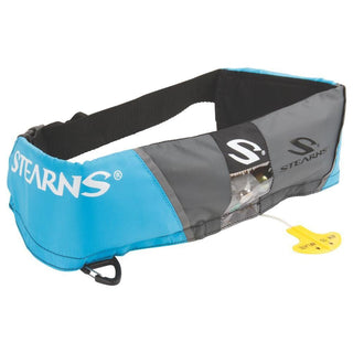 Stearns 0340 M16 Manual Inflatable Belt - Blue-Grey