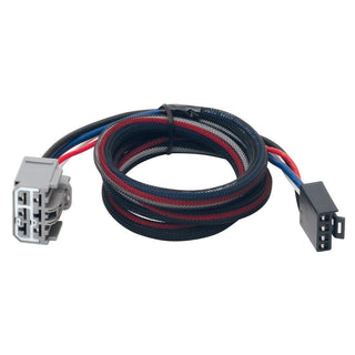 Tekonsha Brake Control Wiring Adapter - 2 Plug - fits GM, Saturn, Buick, Chevrolet
