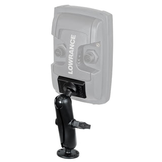 "Lowrance RAM 1"" Mark-Elite 4"" Series Quick Release Mount"