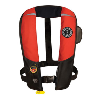 Mustang HIT Inflatable Automatic PFD - Red-Black