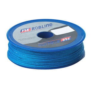 Robline Waxed Tackle Yarn Whipping Twine - Blue - 0.8mm x 80M