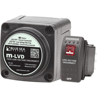 Blue Sea 7635 m-LVD Low Voltage Disconnect