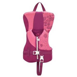 Full Throttle Rapid-Dry Life Vest - Infant Less Than 30lbs - Pink-Purple
