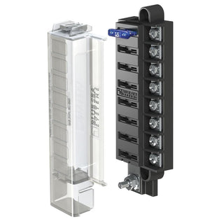 Blue Sea 5046 ST Blade Compact Fuse Blocks - 8 Circuits w-Cover