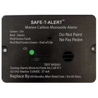 Safe-T-Alert 62 Series Carbon Monoxide Alarm - 12V - 62-542-Marine - Flush Mount - White