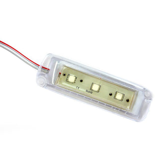 Innovative Lighting 4x1 Tri-Lite - Clear Housing - 3 White LEDs