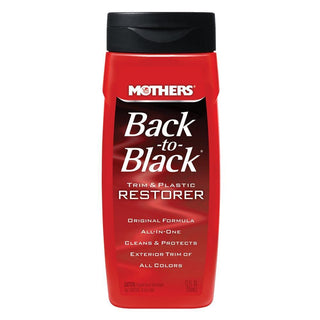 Mothers Back-to-Black® Trim & Plastic Restorer - 12oz