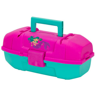 Plano Youth Mermaid Tackle Box - Pink-Turquoise