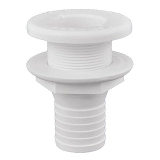 "Attwood Plastic Thru-Hull Fitting - 1-1-2"" - White"