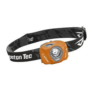 Princeton Tec EOS 130 Lumen LED Headlamp -Orange-Gray
