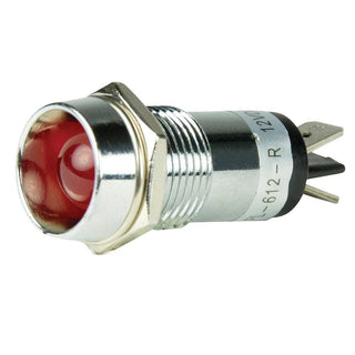 BEP LED Pilot Indicator Light - 12V - Red