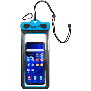 "Dry Pak Cell Phone Case - 4"" x 8"" - Electric Blue"