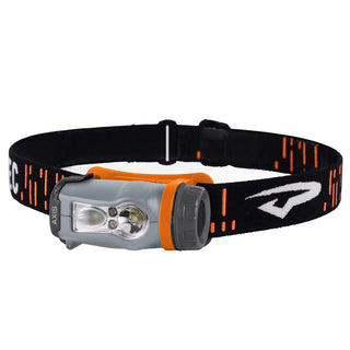 Princeton Tec Axis LED HeadLamp - Orange-Grey